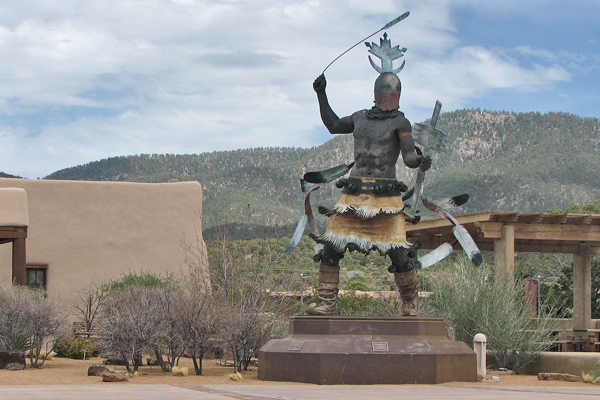 Apache Dancer at Museum of Indian Arts and Culture, Santa Fe