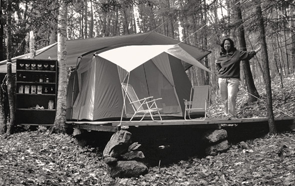 The Tent in the Woods